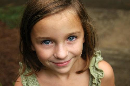 Oh those baby blue eyes!