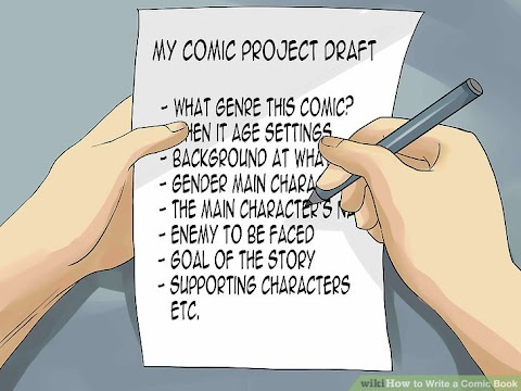 How To Get Into Comic Book Writing