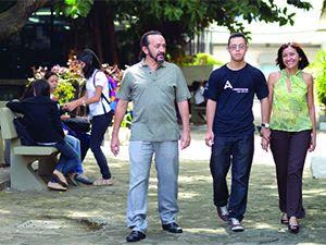 Genilson Protásio Filho foi acompanhado dos pais Crédito da foto: Paulo Soares