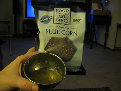 blue corn food should taste good