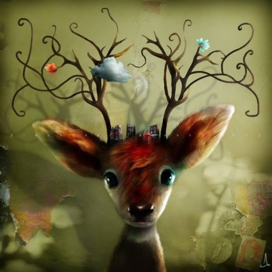 Alexander Jansson illustration fairytale