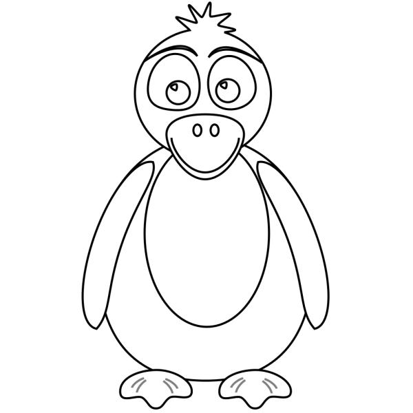 Pinguini Disegni Per Bambini Da Colorare Pagine Da Colorare Di