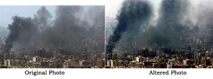 Faked Reuters Photos