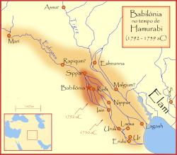 Localização de Babilônia