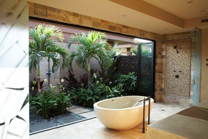 Tropical Bathrooms Ideas