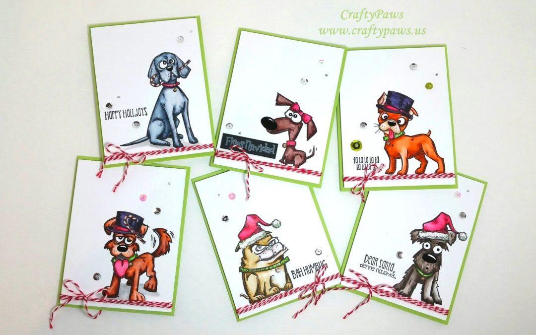 Crazy Dogs Holiday Cards