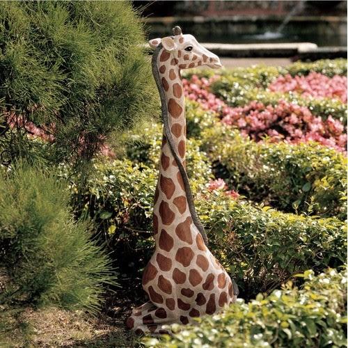 Gigi The Garden Giraffe Statue - modern - garden sculptures - by ...