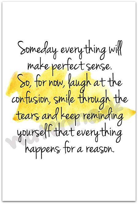 Everything Happens For A Reason Quote Picture