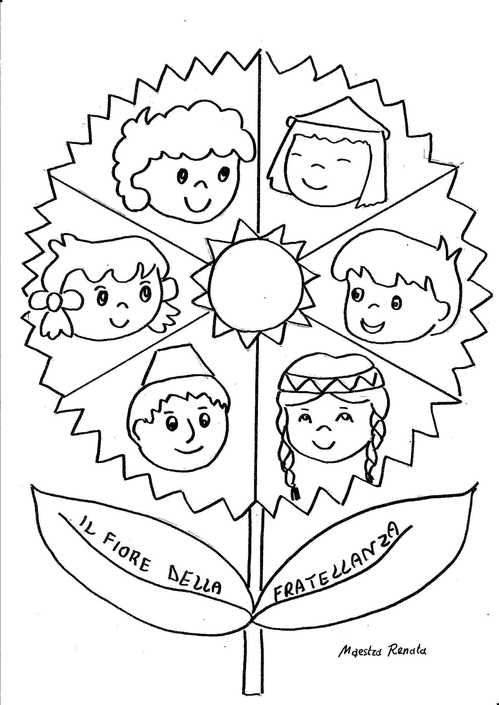 15 Disegni Da Colorare Diritti Dei Bambini Maestra Mary Migliori