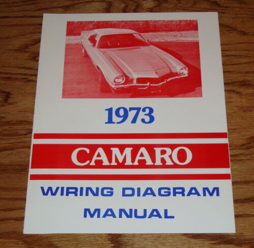 1973 Chevrolet Camaro Wiring Diagram Manual 73 Chevy Fifasteluce Com