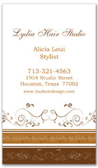 BCS-1025 - salon business card