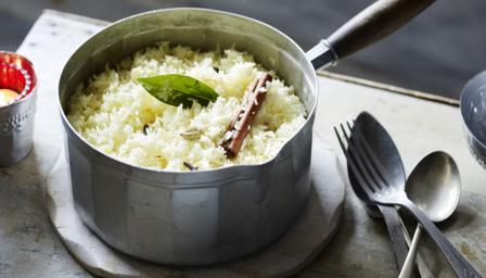 Fragrant pilau rice