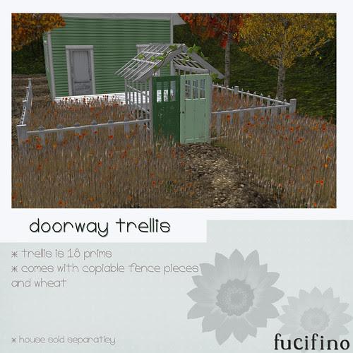 fucifino.doorway trellis for moody mondays