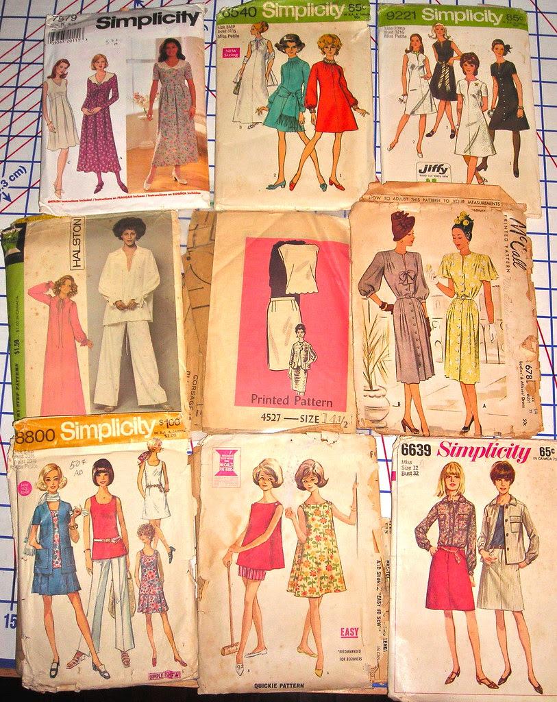 Vintage Patterns from Myra