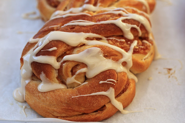 Cinnamon Apple Twist Bread from Karen's Kitchen Stories