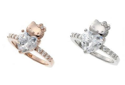Rock a Hello Kitty Engagement Ring   Hello Kitty Bucket