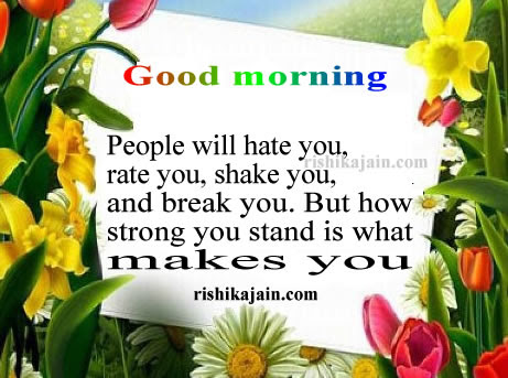 Quote,Message ,sms,positive thinking,Good morning Inspirational Quotes ...