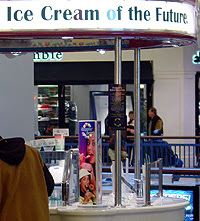 Photo of mall shop: Ice Cream of the Future