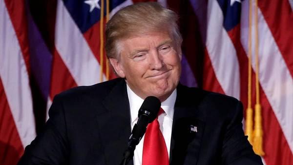 Sonrisa. Donald Trump, tras la victoria. /REUTERS