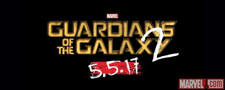 Today at the Marvel Studios press event, Guardians of the Galaxy 2's release date was announced to have been moved up, and the logo was revealed.