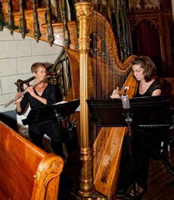 Harps string music Santa Fe weddings events