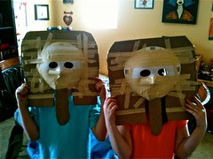 Pharaoh mummy masks
