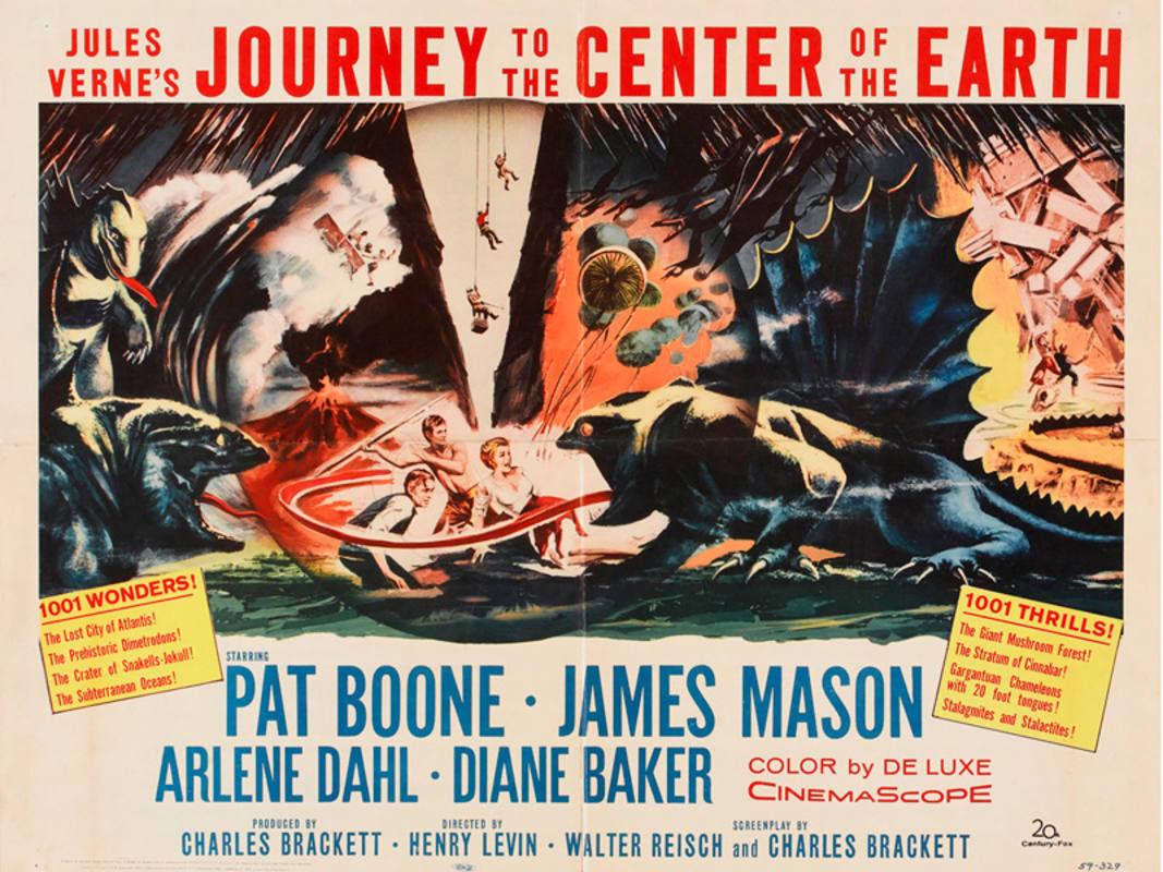 Cartel de la película 'Viaje al centro de la tierra'