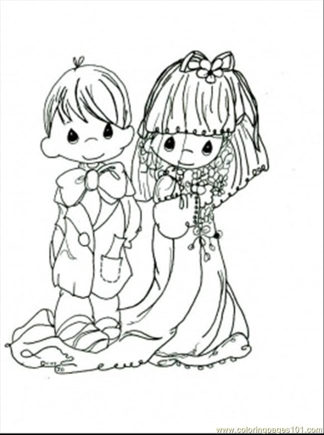 Moments Wedding Coloring Page printable coloring page for ...