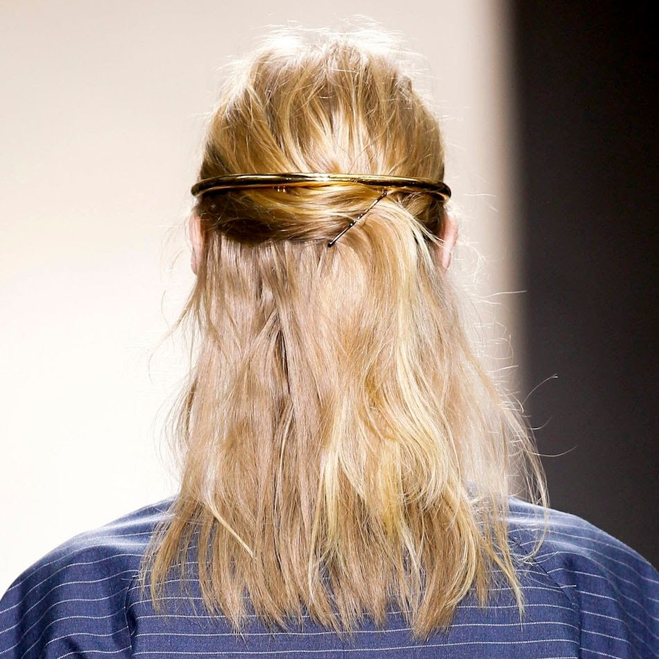 Le Fashion Blog Balenciaga SS 2013 Romantic Blonde Haircolor Half Updo Gold Halo Hair Piece Wedding Bridal Inspiration photo Le-Fashion-Blog-Balenciaga-SS-2013-Romantic-Blonde-Haircolor-Half-Updo-Gold-Halo-Hair-Piece-Wedding-Bridal-Inspiration.jpg