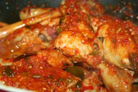 Resep Ayam Rica Rica Sambal Ijo Crv Turbin