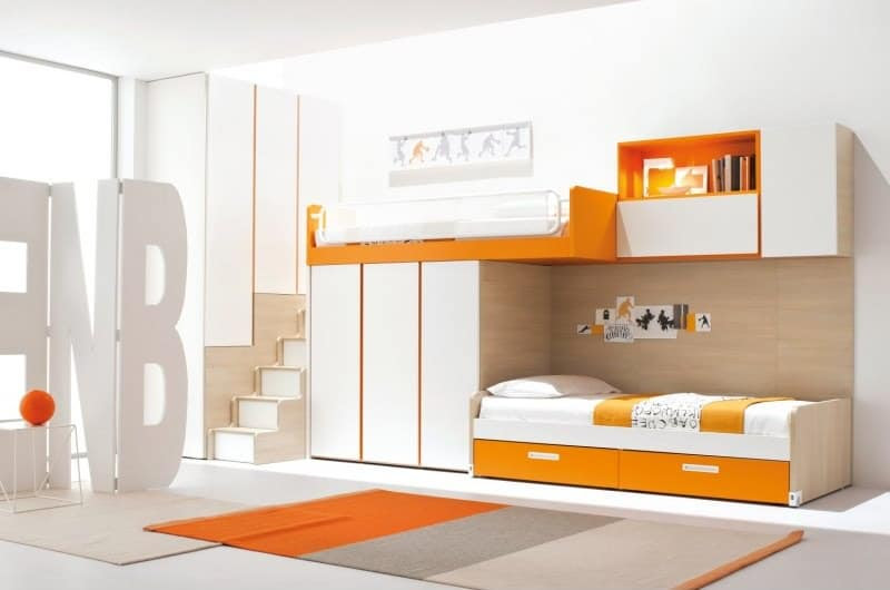 10 Colorful Modern Loft Bed Designs by Clever   The Design Home