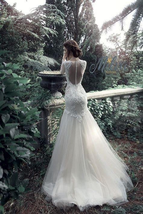 Best 20  Lace Fishtail Wedding Dress ideas on Pinterest