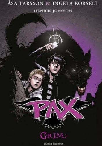Okładka książki Pax. Grim