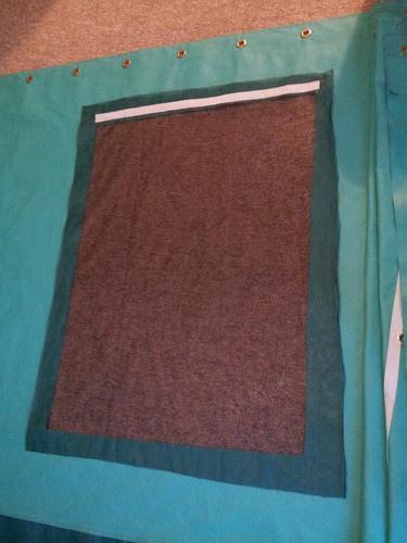 Yurt Screen Window