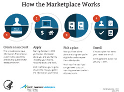 How the Marketplace Works infographic