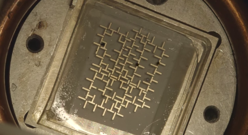 Computadora que funciona con agua