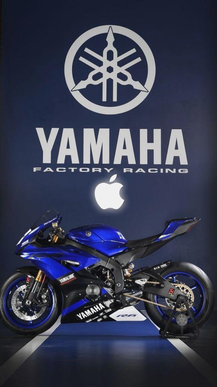 Blue Yamaha Logo Wallpaper