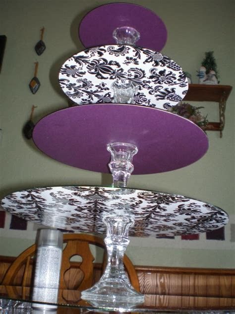 25  best ideas about Homemade Cake Stands on Pinterest