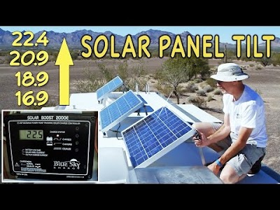 RV Geeks videos: Solar Panels, Towbar ABCs, Awning Replacement, Stuck in the Desert, LED Conversion, Toothpaste Headlights