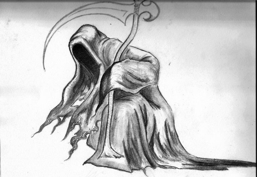 Awesome Drawings Of The Grim Reaper Imageseldelfinsinfin