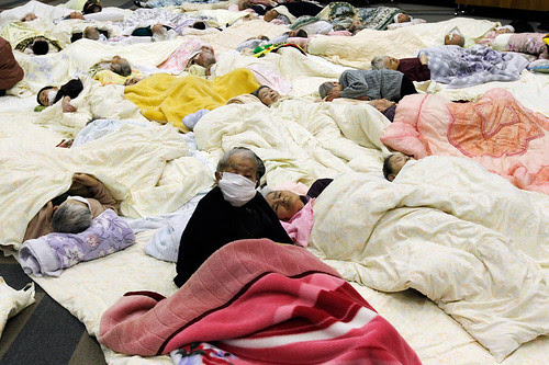 Japan: earthquake aftermath