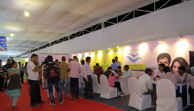 Pune Property Exhibition - Sakal Vastu - Property Expo - December 2012 - 12