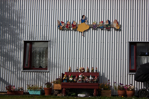 Icelanders really seem to like Snow White & the 7 dwarves