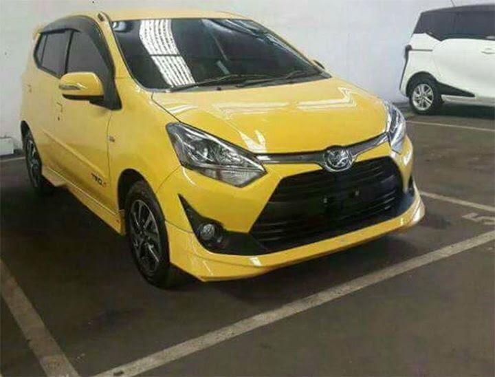 Toyota Agya Facelift, Kembar Perodua Axia Sedia Dilancar