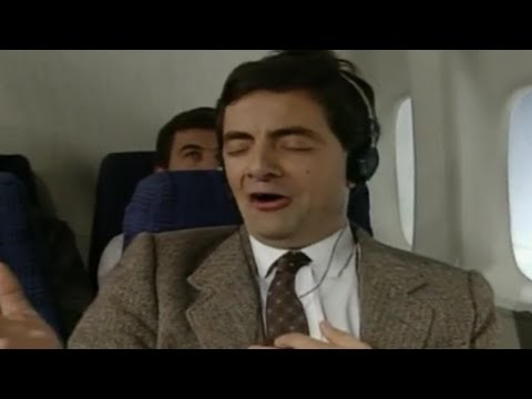 On a Plane with Mr Bean-TV Comedy