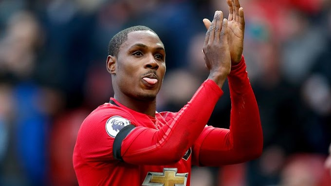 EPL: Ighalo writes farewell letter to Manchester United