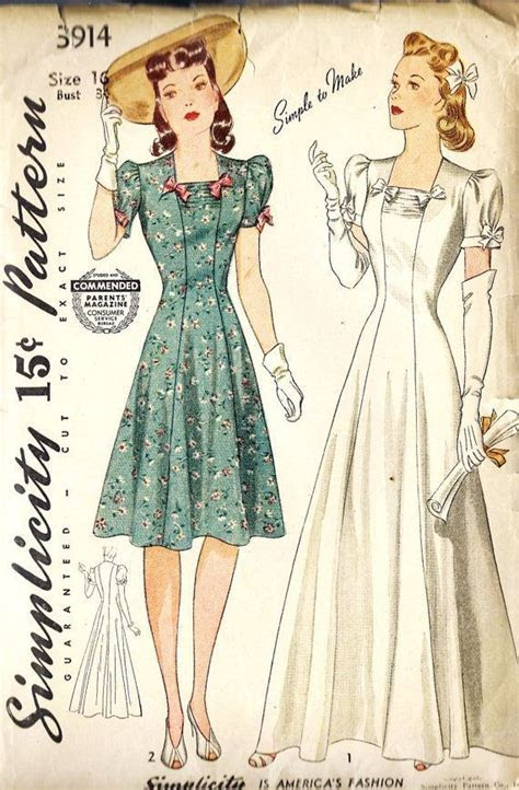 598 best images about Vintage Bridal Gown Patterns on
