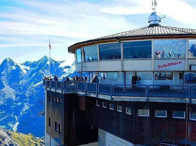 Piz Gloria, Мюррен, Швейцария деликатесы, еда, настоящие гурманы, удивительное рядом