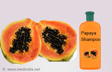 Papaya shampoos