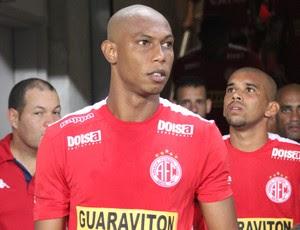 Flávio Boaventura - zagueiro do América-RN (Foto: Diego Simonetti/Blog do Major)